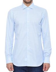 Мужская рубашка BARBA NAPOLI K1U13H524502W_blue