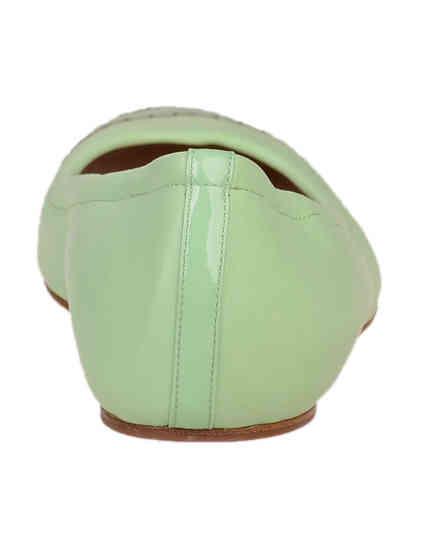 зеленые женские Балетки Casadei 132_green 8624 грн