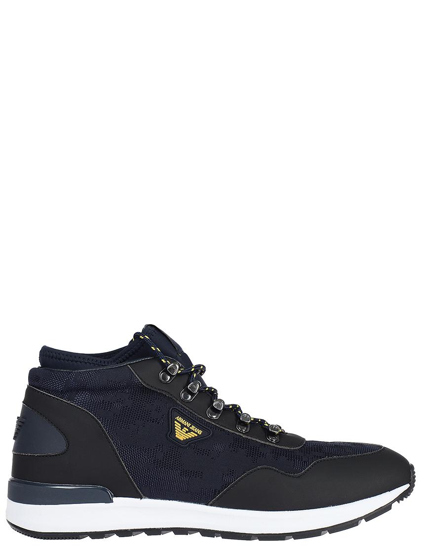 Мужские кроссовки Armani Jeans 5125-К-R-blunotte_blue