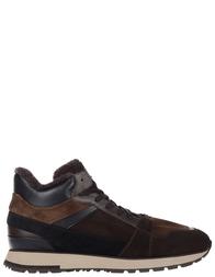 Мужские кроссовки Santoni S20616-BROWN