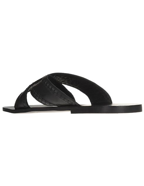 черные Шлепанцы Trussardi AGR-77A000889Y099999 размер - 41; 39