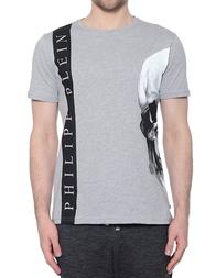 Мужская футболка PHILIPP PLEIN 0804_gray