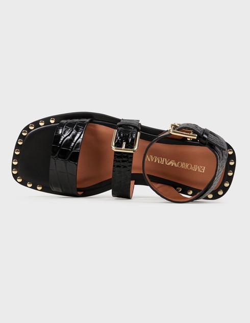 черные женские Босоножки Emporio Armani X3P725XF266-00002 6579 грн