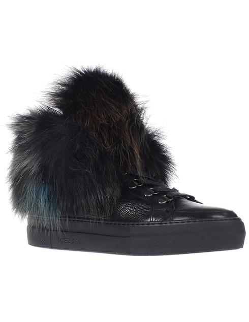 черные Ботинки Iceberg ID1097A