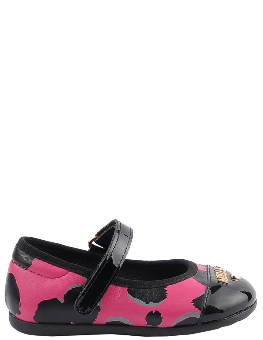 Детские туфли для девочек MOSCHINO 25190-multi