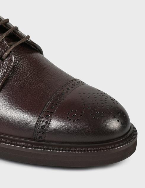 мужские коричневые кожаные Броги Henderson Baracco 81218.L.0 - фото-5