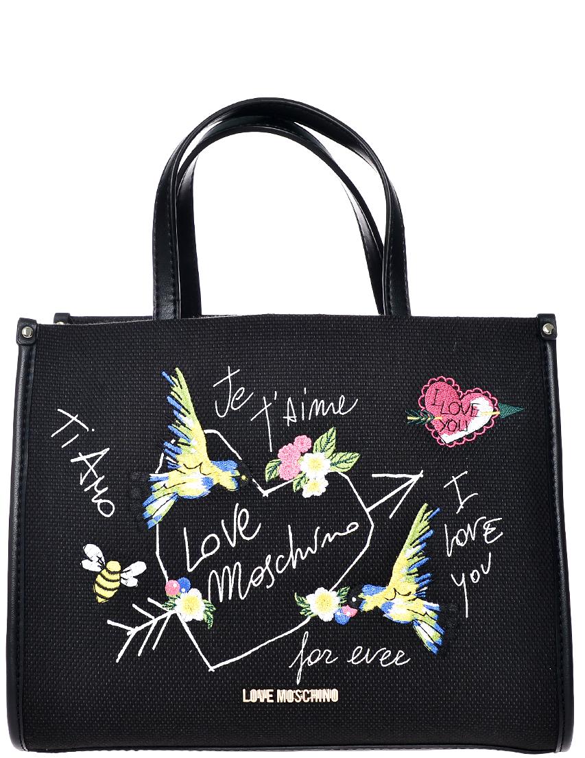 Фото - Женская сумка Love Moschino 4279_black