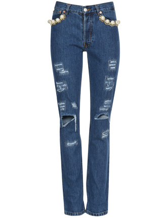 FORTE DEI MARMI COUTURE джинсы