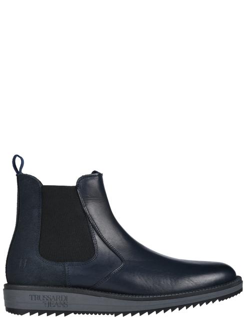 мужские синие Ботинки Trussardi 77A002039Y099999-U290 - фото-2