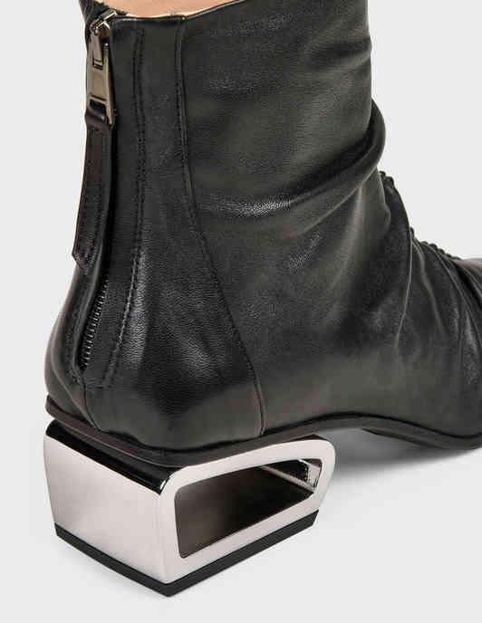 женские черные Ботильоны Fru.It 6267-black - фото-6