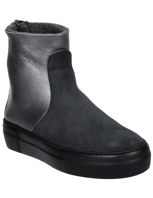 женские серые Ботинки Pertini 192W16270D4 - фото-2