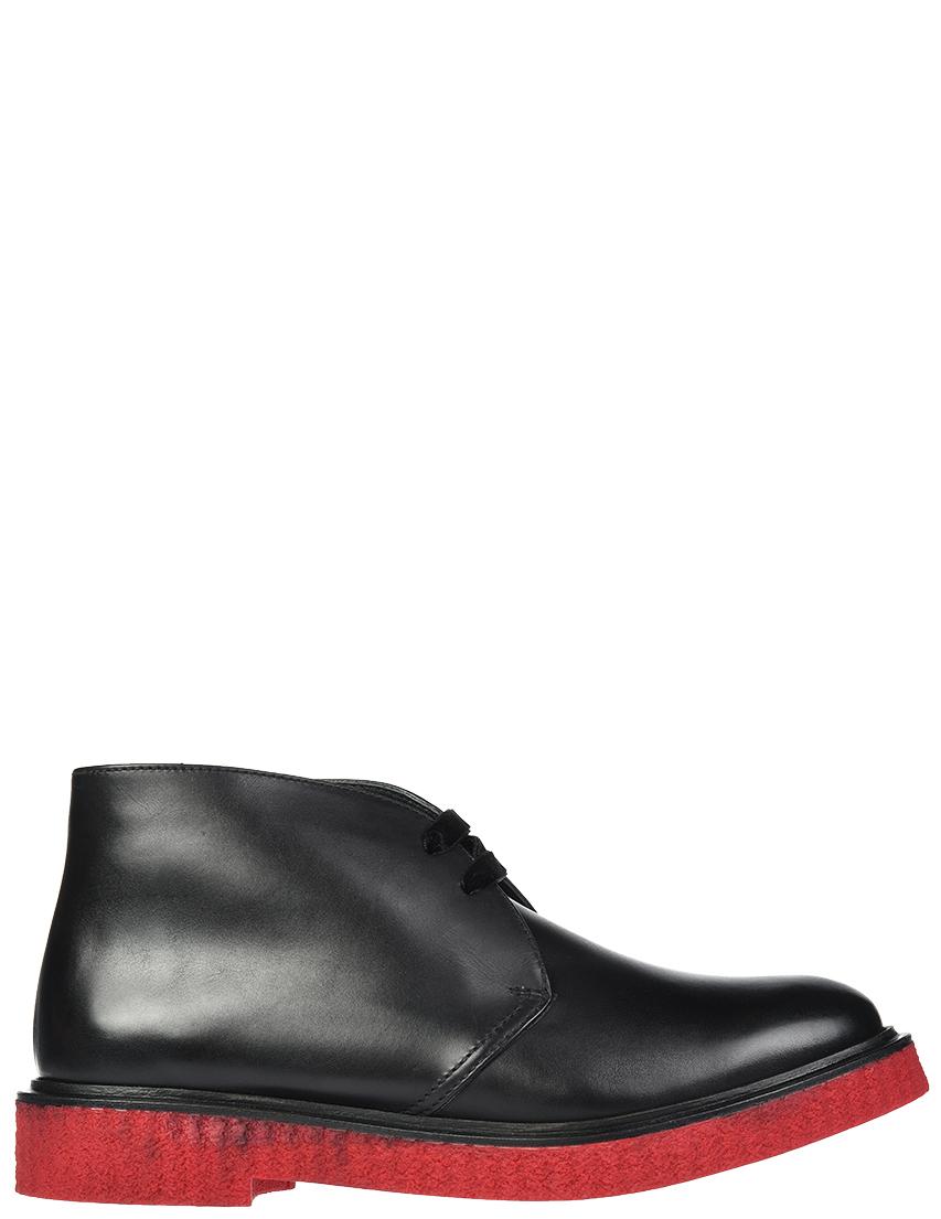 Женские ботинки Fratelli Rossetti S75445_black
