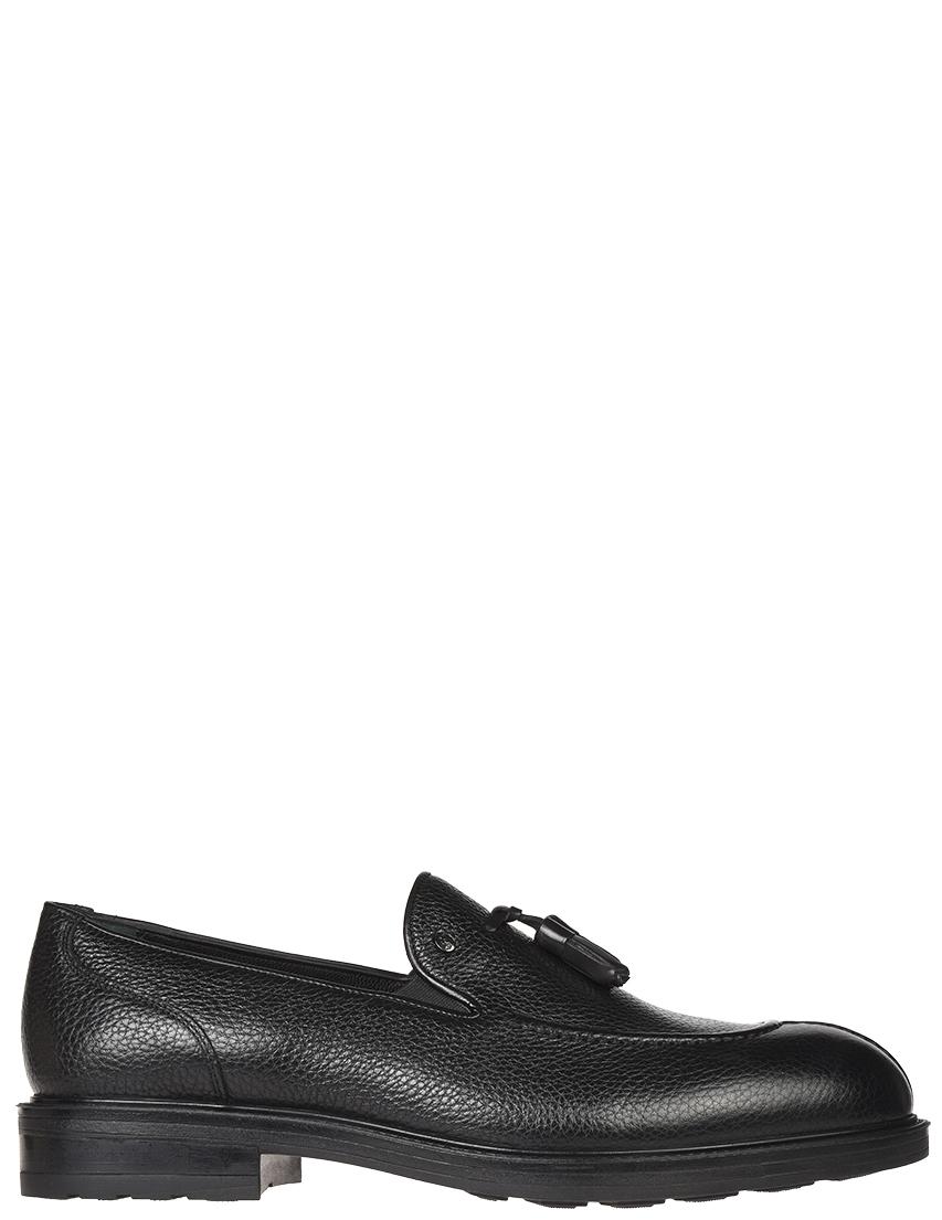 Мужские лоферы Roberto Serpentini 53815_black