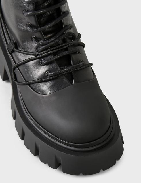 женские черные кожаные Ботинки Iceberg 2IID1857 - фото-5