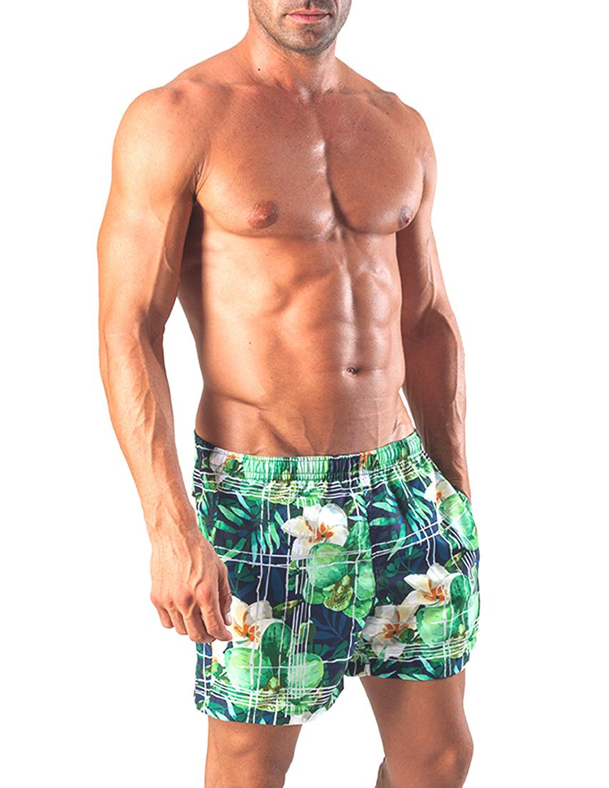 Мужские шорты пляжные GERONIMO 1504p1Green