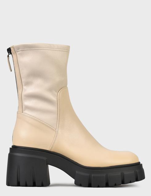 женские бежевые Ботинки Loriblu 2I6TM02400-LATTE - фото-6