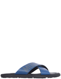 Мужские шлепанцы Moschino 2014/1_blue