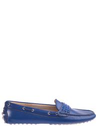 Детские мокасины для девочек FLORENS F7200navy_blue
