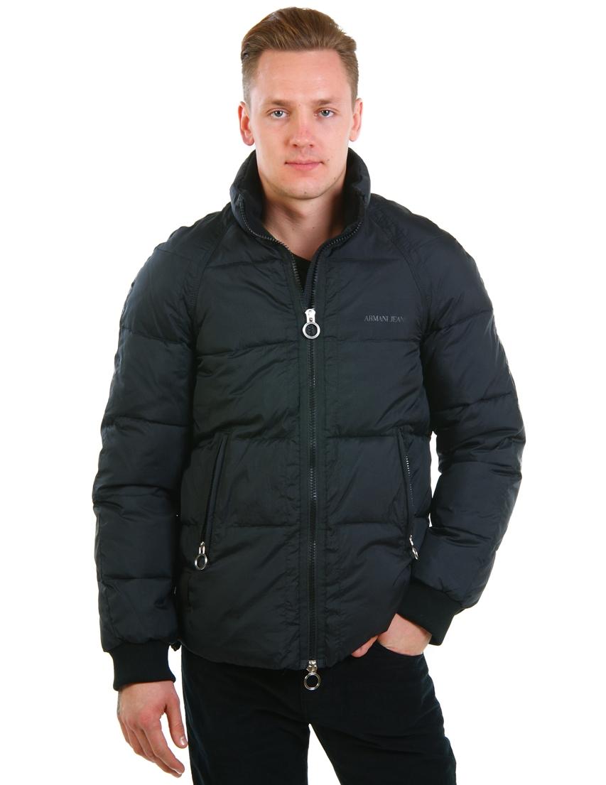 Купить Куртка, ARMANI JEANS, Черный, 100%Полиестер, Осень-Зима