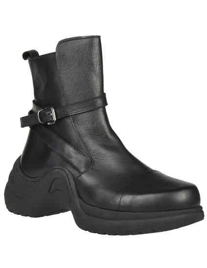 женские черные Ботинки L'Estrosa 514_black - фото-2