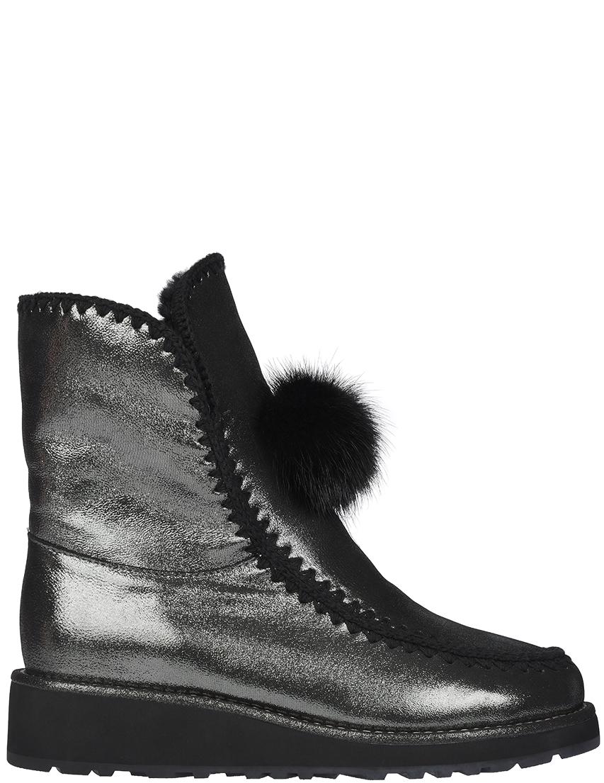 Купить Ботинки, GIANNI RENZI, Серебряный, Осень-Зима