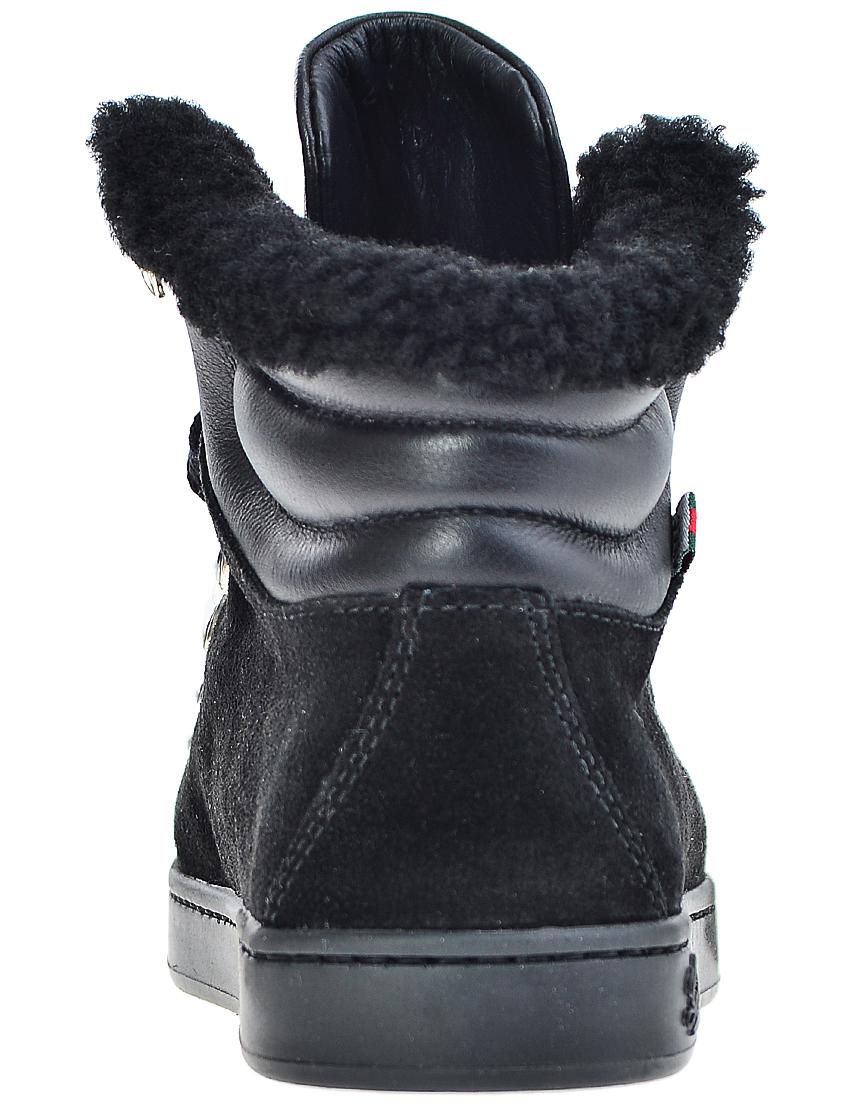 Фото 2 - Ботинки черного цвета
