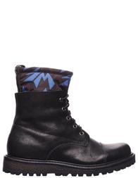 Детские ботинки для мальчиков WALK SAFARI 237-black