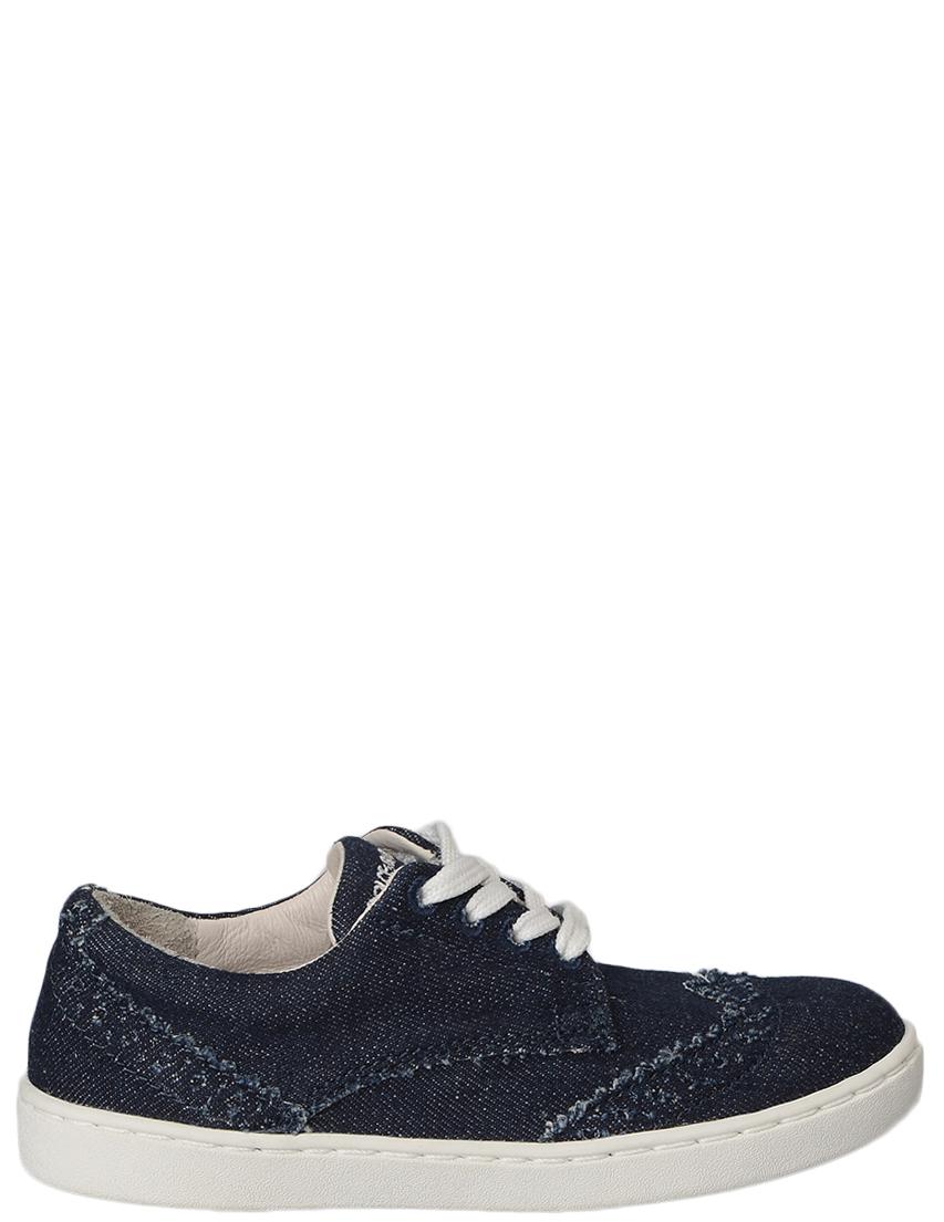 Детские туфли для мальчиков DOLCE  GABBANA DD0045_blue