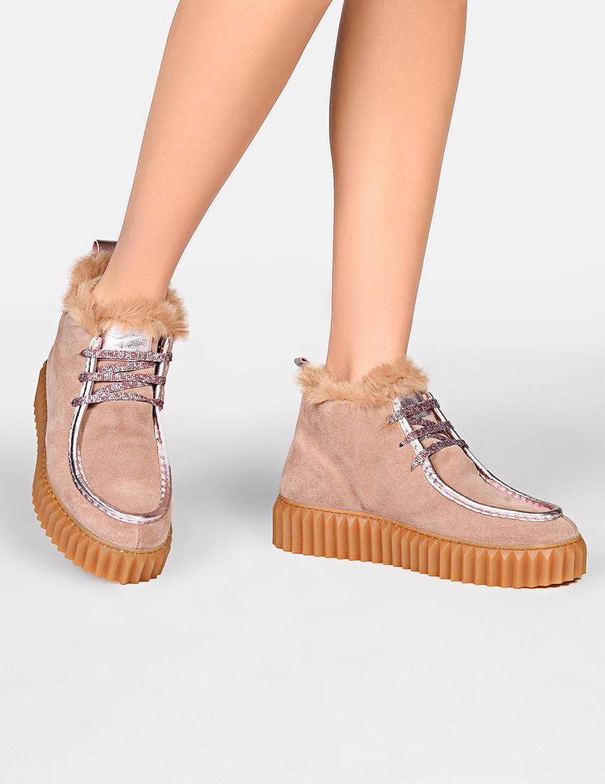 Женские ботинки Voile Blanche 188-pink