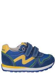 Детские кроссовки для мальчиков NATURINO Bombaazzurrogiallo_blue
