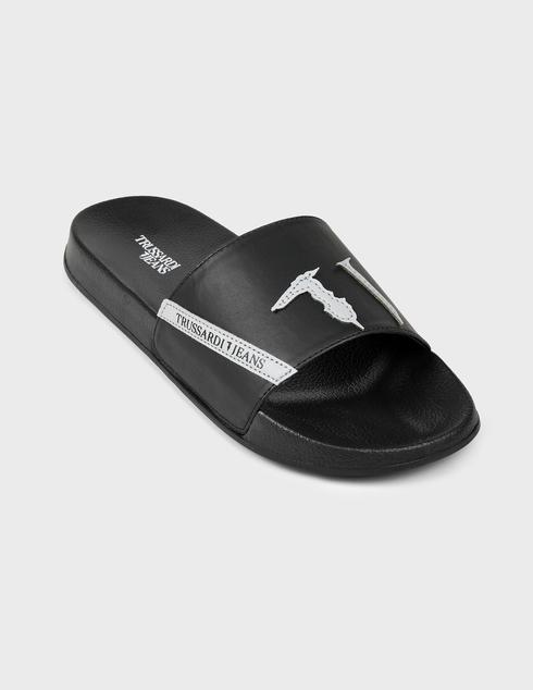 черные Шлепанцы Trussardi AGR-77A002619Y099999-K299