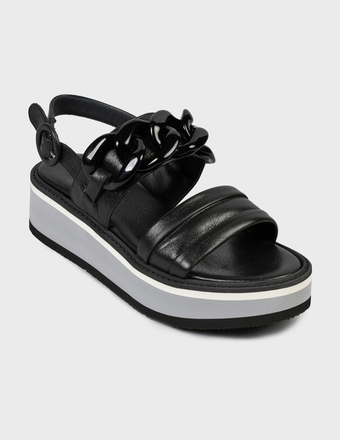 черные Босоножки Pertini 201W16870D1