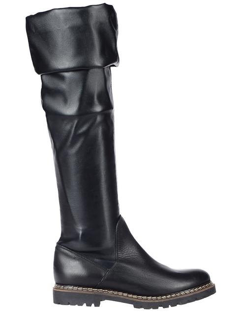 черные женские Ботфорты Griff Italia 608_black 6245 грн