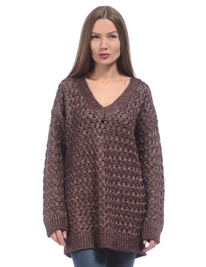 Пуловер с v вырезом доставка