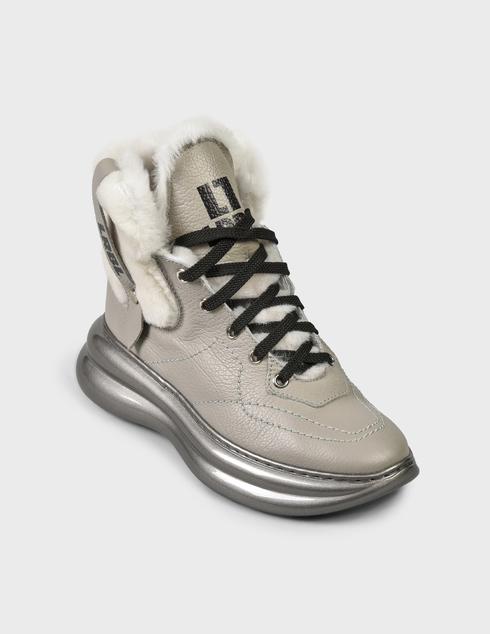 женские серые Ботинки Loriblu AGR-1IXV0245XV - фото-2