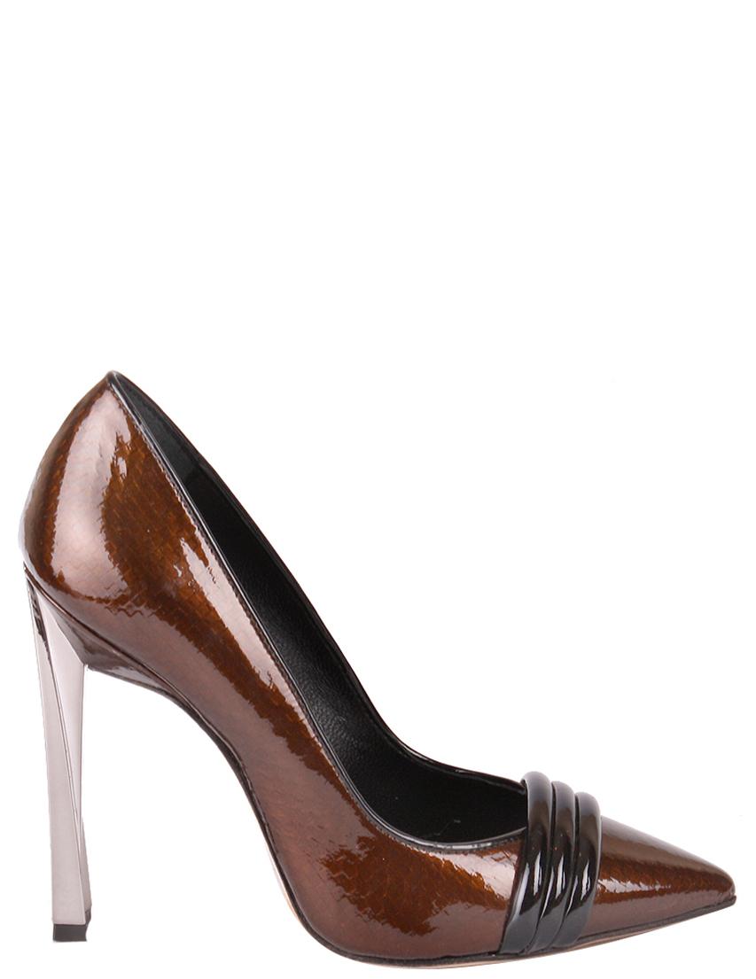 Туфли, MAC COLLECTION, Коричневый, Осень-Зима  - купить со скидкой
