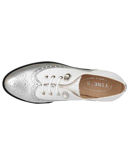 белые Оксфорды Tine's AGR-6611_white размер - 37; 38; 39; 40