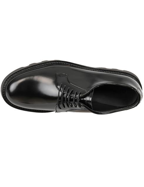 мужские черные кожаные Дерби Emporio Armani X4C437XF057-000002 - фото-5