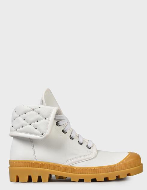 женские белые Ботинки Baldinini D2BS28NAPI9002 - фото-7