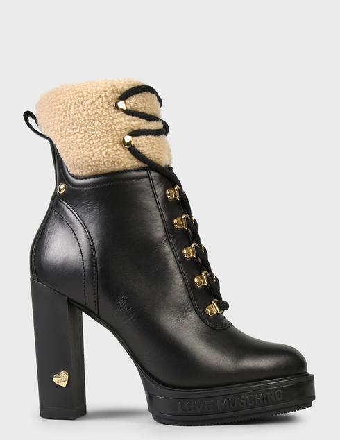 женские черные Ботинки Love Moschino JA2129AH0DIAP00A - фото-6