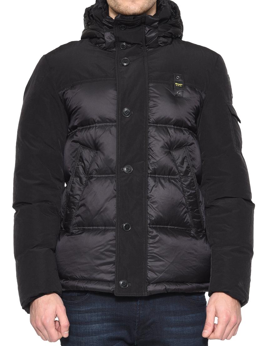 Купить Куртка, BLAUER, Черный, 100%Полиамид;85%Полиэстер 15%Полиамид, Осень-Зима