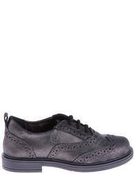 Детские туфли для девочек NATURINO 4051-antracite