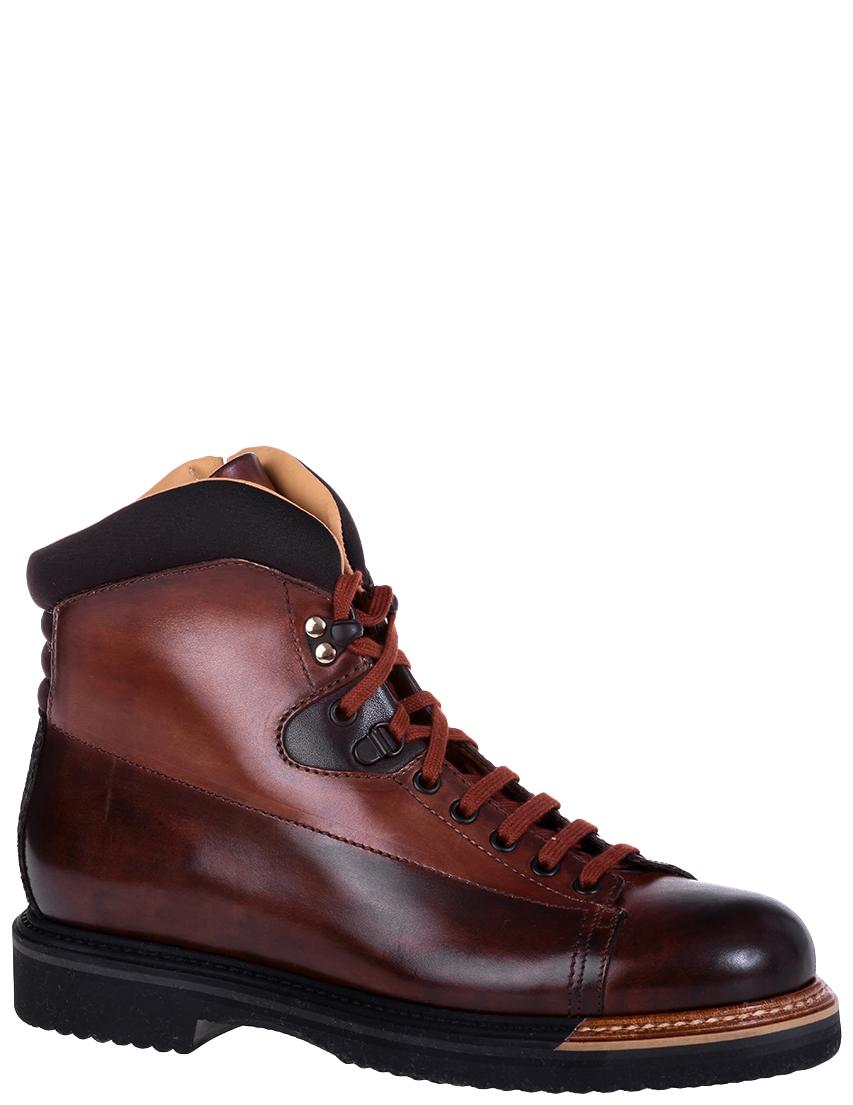 Фото 2 - мужские ботинки и полуботинки  коричневого цвета
