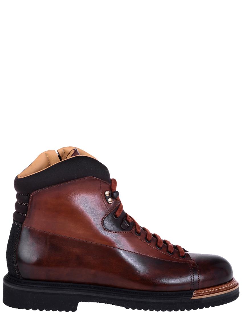 Фото - мужские ботинки и полуботинки  коричневого цвета
