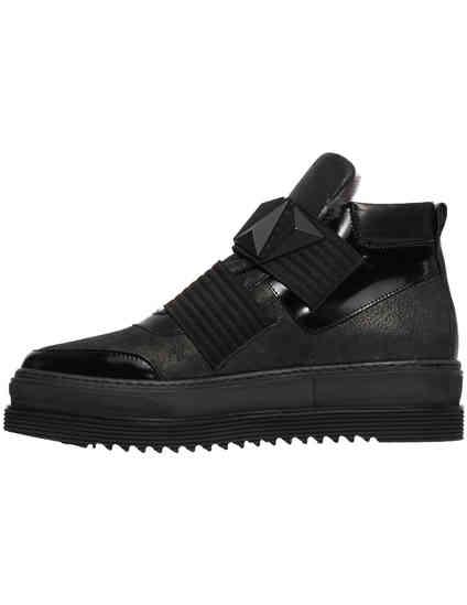 черные женские Ботинки Laura Bellariva 7532CTM_black 8480 грн