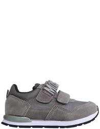 Детские кроссовки для мальчиков Moschino 25960-grigio-gray