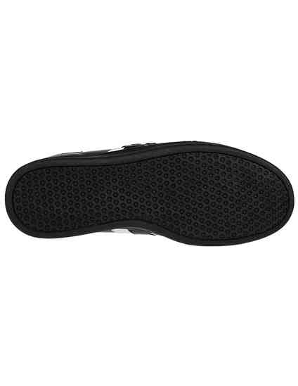 мужские черные кожаные Кеды John Richmond 8104A - фото-5