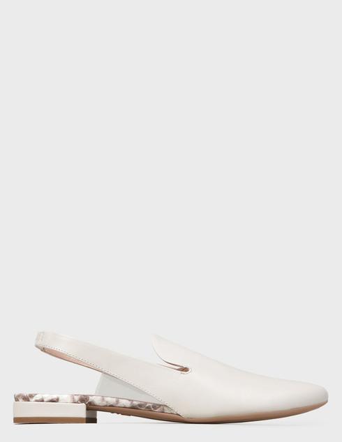 женские бежевые кожаные Туфли Agl D555004PHK6690C967 - фото-5