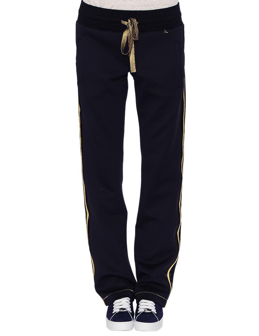 Купить Спортивные брюки, PATRIZIA PEPE, Черный, 8%Эластан 92%Полиэстер, Весна-Лето