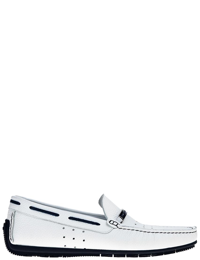 Мужские мокасины Gianfranco Butteri 25335_white